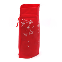 March Expo China Factory Direct Cheap Non Woven Small Christmas Gift Drawstring Bags In Bulk