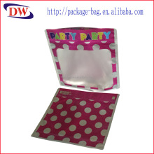 ziplock plastic bag for party gift