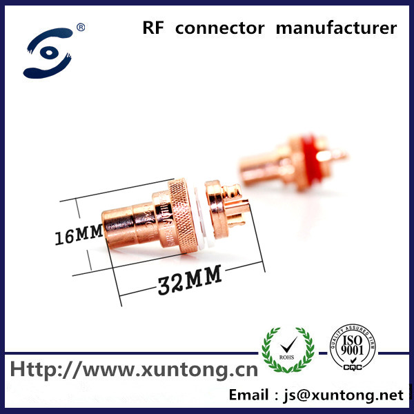 red copper RCA female Plug Audio cable connector RCA female