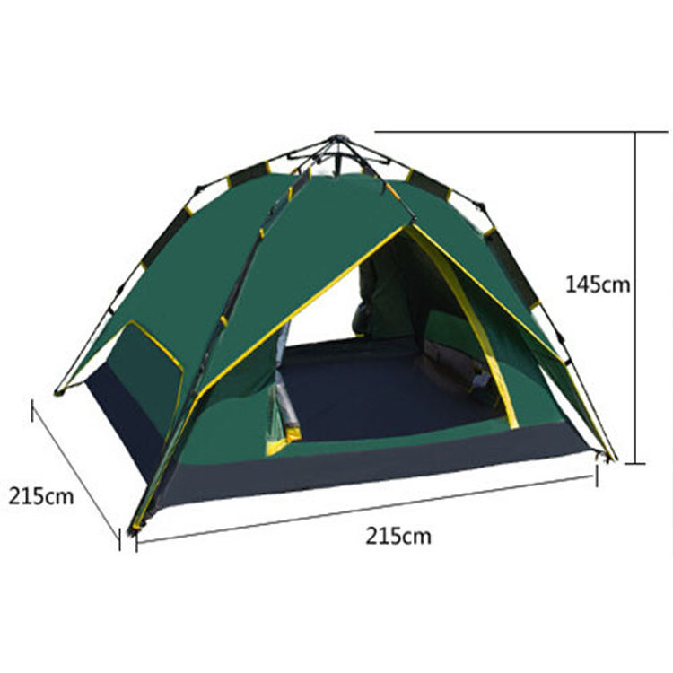 one touch open pop up camping beach tent for camping