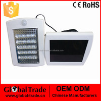 Outdoor Solar Power 36 LED PIR Motion Sensor Security Wall Path Garden Light H0023
