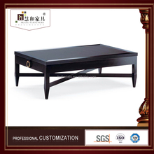 Customized Hot Sale Short Leg Coffee Table Black Coffee Table