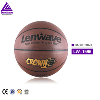 Factory wholesale crown custom cheap basketball in bulk sale