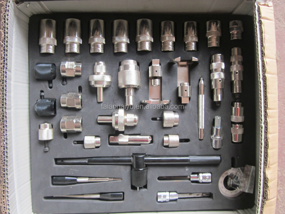 injector tools common rail injector repair tool Bosch with quantity 35pcs
