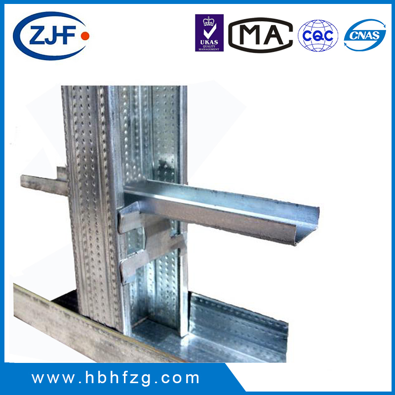 Factory price drywall metal stud and track for office partition wall