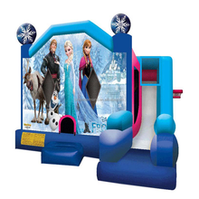 Eco-friendly frozen inflatable combo jumping bouncy castles with prices