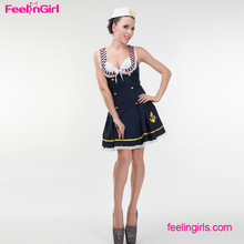 OEM Services Navy Blue Dress Sexy Bad Girl Sailor Costume