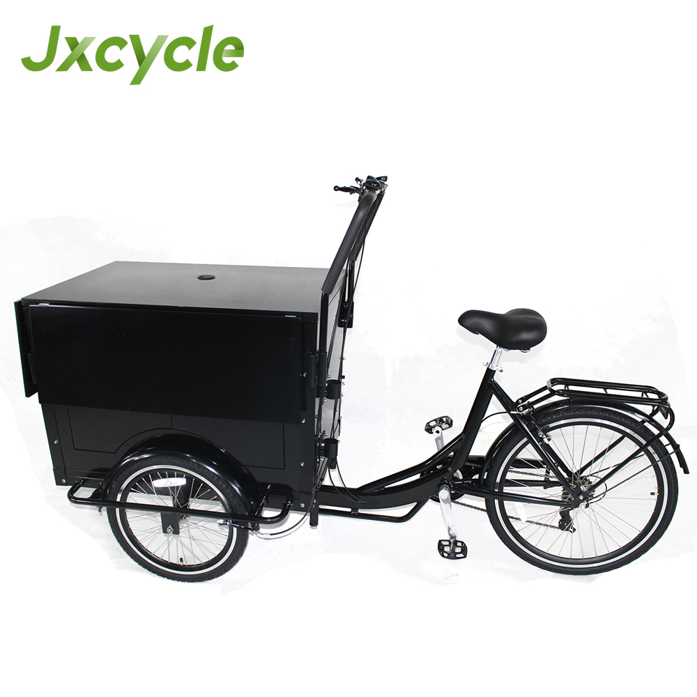 jxcycle 3 wheel mobile food bike / bicycle for sale