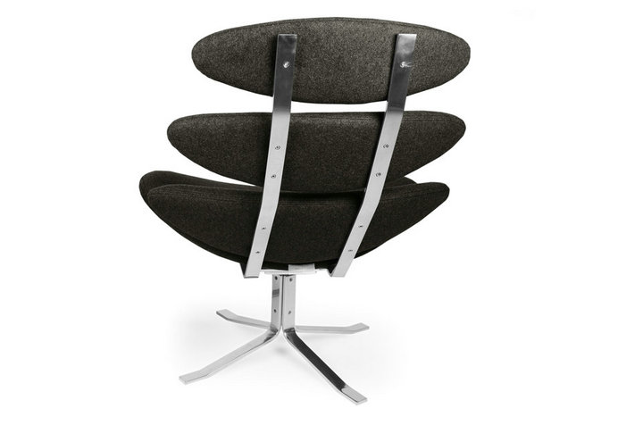 Modern classic chair corona chair and ottoman scandinavian design chairs