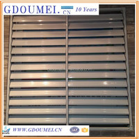 Galvanizing Iron Security window Shutter, Window Blinds,Louver Window
