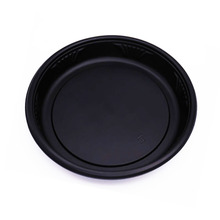 Factory supply disposable plastic sushi party tray sushi round tray