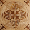 Middle asian design oak and teak wood parquet flooring Kazakhstan design