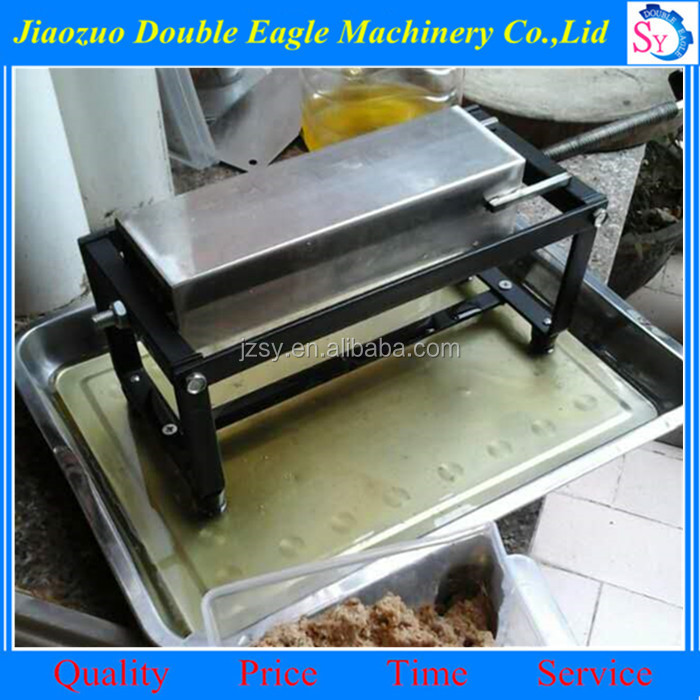 Home use manual stainless steel coconut oil filter machine/small oil residue filter maker price