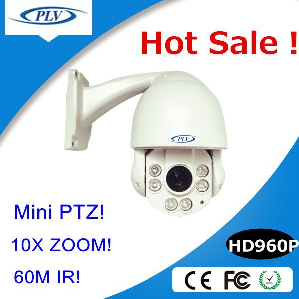 4-inch 960P Mini High Speed Dome 10X zoom HD outdoor IP auto focus cctv Camera