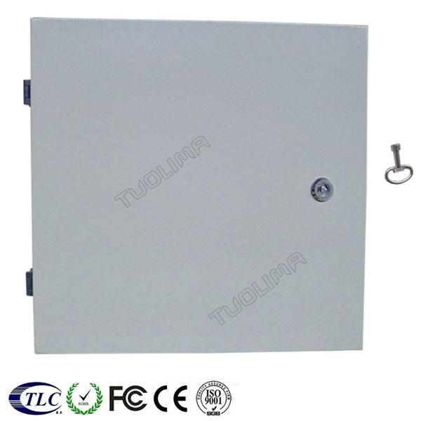 custom size steel fiber optic distribution box enclosure