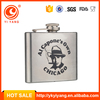 Alcohol promotional products yongkang factories hip flask bpa free