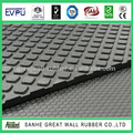Amercian Style 2mm Board Easy Clean Easy Replace Small squared Cow Matting for Animals