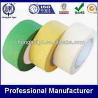 Excellent adhesion colorful masking tape