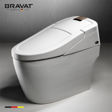 One piece automatic drying remote control siphon vortex instant heating smart toilet C21144XUW