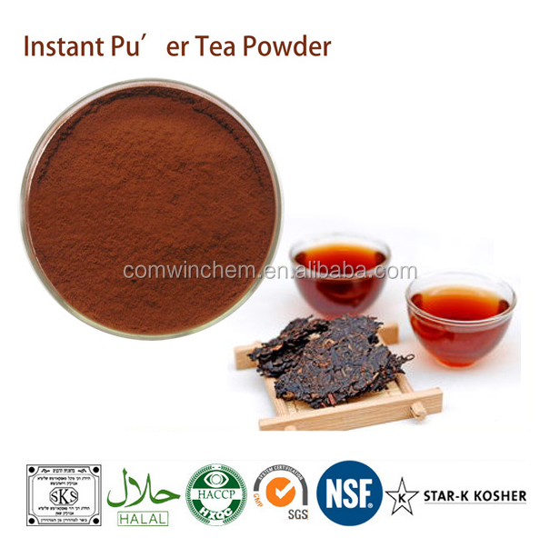 100% Organic Puer Tea Extract Powder