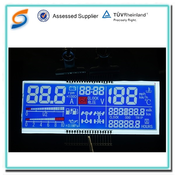 Liyuan liquid crystal display mipi dsi interface segment lcd in lcd modules