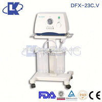 low vacuum suction high flow and transportable medical suction unit surgical suction apparatus