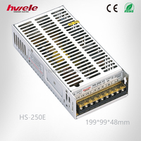 HS-250E good buyQuality power supply LED Switch power supply SGS,CE,ROHS,TUV,KC,CCC certification