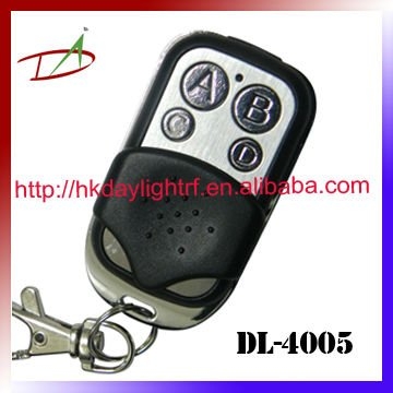 ABCD buttons remote control round metal keychain