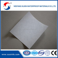 Modified bitumen polyester mat for sbs/app waterproofing membrane