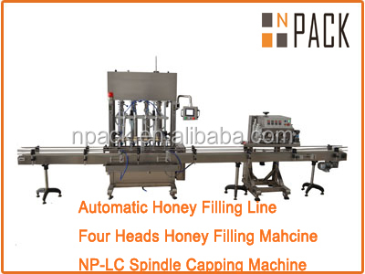 4 nozzle filling machine