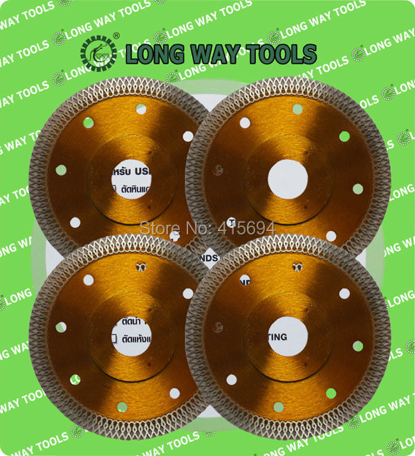 "4pc/lot 115mm 4.5""diamond ultra thin blade for cutting ceramic, tile and granite,"