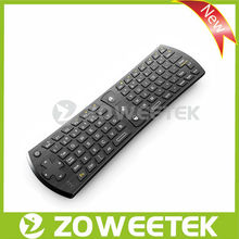 2013 Hottest 2.4g Air Mouse Mini Wireless Keyboard for Sharp Smart TV