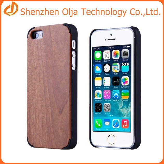 olja hot sell pc wood back cover case for iphone 6 wooden case for iphone 6 buy wooden case. Black Bedroom Furniture Sets. Home Design Ideas