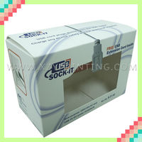 Customize Paper Box Packaging With PVC