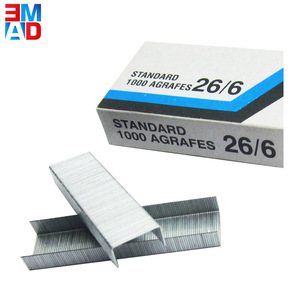 China factory cheap price office galvanized standard 26/6 stapler staple