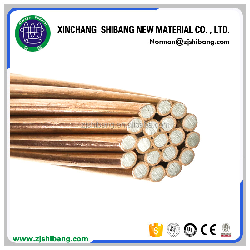 Copper Clad Steel Stranded Wire Copper Plated copper conductor