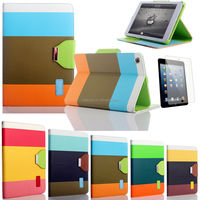 Hybrid leather case for ipad mini 2