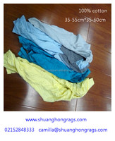 cotton T shirt wiping cloth for cleaning oil