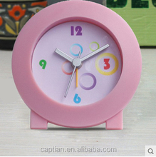 acrylic desk promotional led watch kids desk alarm clock pictures