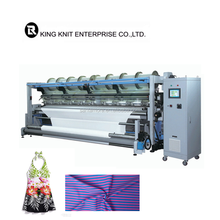 High Speed Machinery For Textile Single Jersey Double Needle Warp Knitting Machine