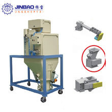 High efficiency 50kg bag animal feed granule weighing filling machine