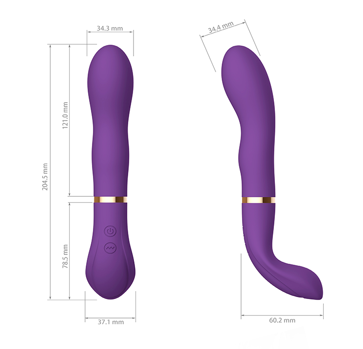 2018 New USB Av Wand G-Spot Wholesale Waterproof Vibrator