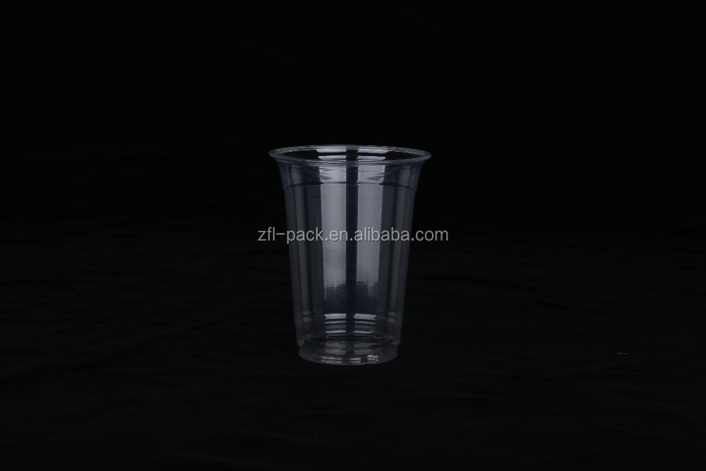 12OZ clear disposable suction cup pet bowl