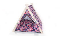 Hot sell detachable wooden dog tents pet tents dog house pet nest