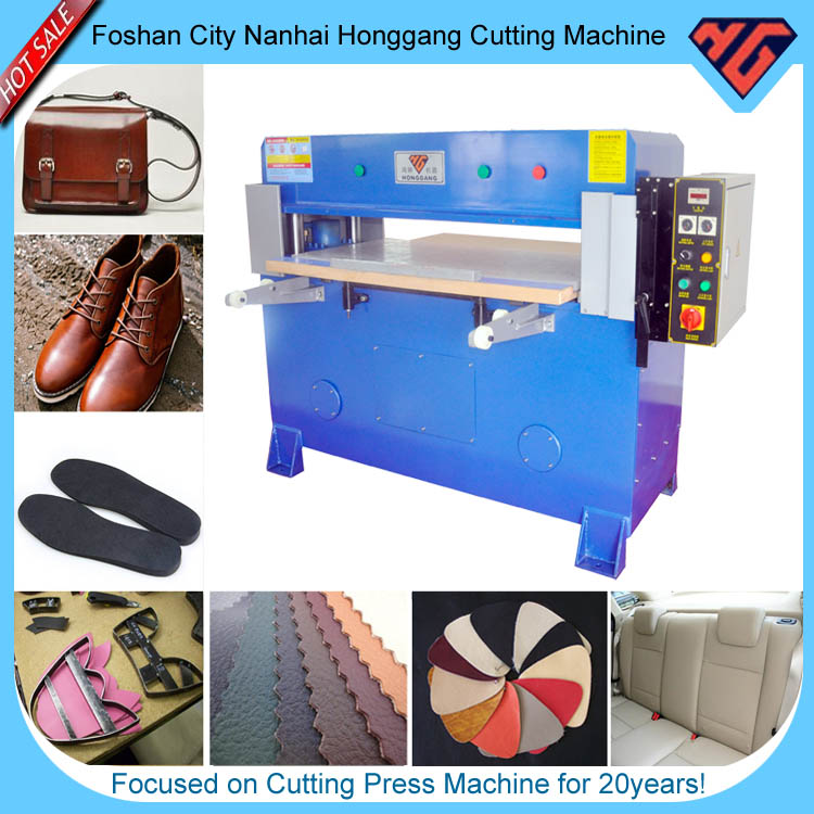 Multi-layer hydraulic die Sebago shoe cutting machine