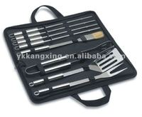 wholesale stainless steel bbq tool sets with bbq tongs