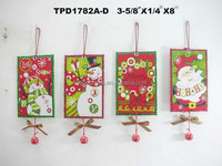 Handcrafted Christmas ORNAMENT Paper Material Greeting Card