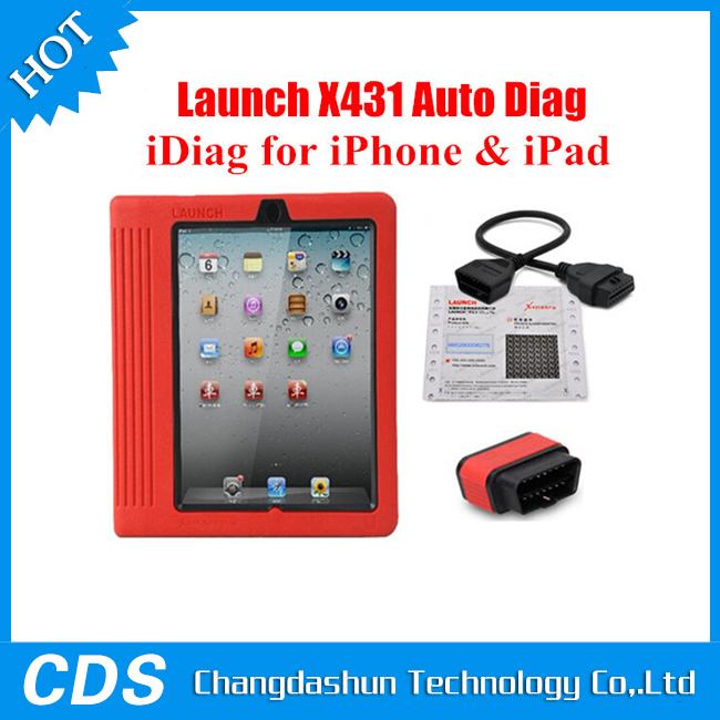 2015 100% Original X431 iDiag Auto Diag Scanner for IOS Update Online