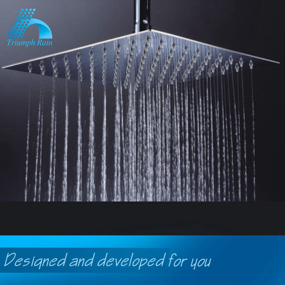 Ceiling Ultra Thin Rain Shower Head with Good Quality