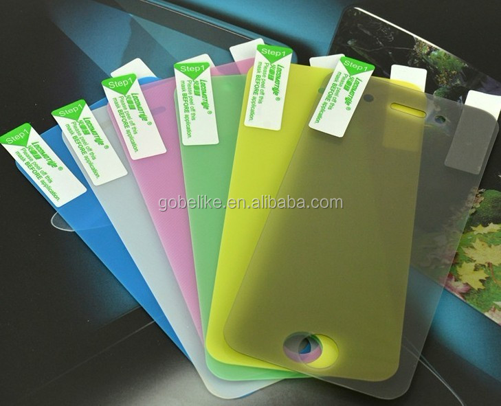 2 way colorful anti-spying screen film for smartphones and laptops, privacy screen protector